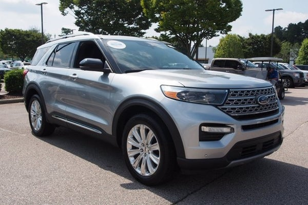 2020 ford explorer limited in apex nc raleigh ford explorer crossroads ford of apex crossroads ford of apex