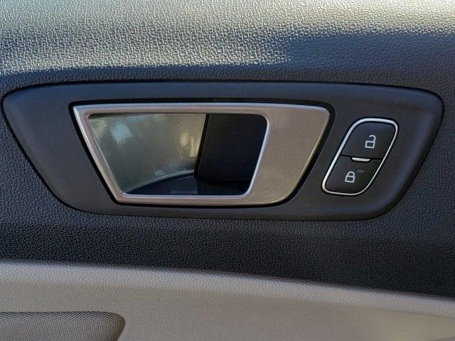 FORD GRAND C-MAX PASSENGER OR DRIVER REAR KEYLESS DOOR HANDLE SHADOW BLACK